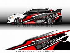 Car Decal Graphic Vector Truck Cargo Stock Royalty
