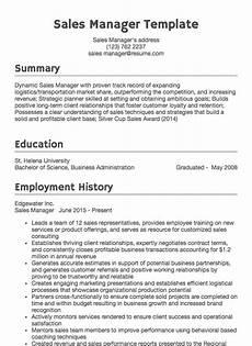 sales resume sle resume com
