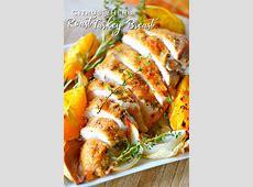 citrus and herb roast turkey breast image