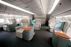 cabine de premier prix les diff 233 rentes classes en avion