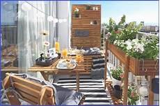 balkon wand gestalten ideen schmaler balkon