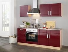 Küchenblock Mit Elektrogeräten - neu k 252 chenzeile varel k 252 chenblock mit e ger 228 ten 210 cm