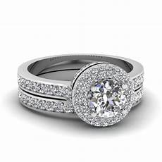 crown pave halo diamond wedding ring in 18k white gold fascinating diamonds