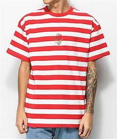 4hunnid white stripe t shirt zumiez