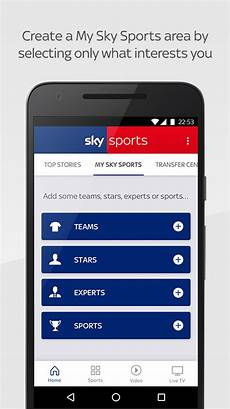 Sky Sport App - sky sports android apps on play