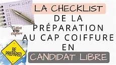 La Checklist De La Pr 233 Paration Au Cap Coiffure En Candidat