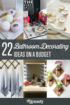 bathroom decorating ideas on a budget diy ready