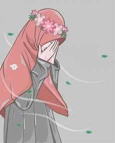 Gambar Muslimah Cantik Terlengkap Menangis Muslimah Kartun