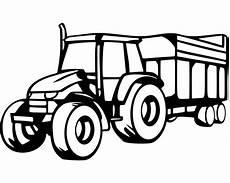 Einfache Ausmalbilder Traktor Trecker Mit Anh 228 Nger Wandtattoo Traktor 25 Farben