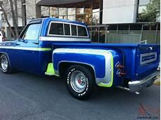 chevy corvette blue paint