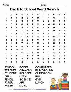 back to school word search free printable school worksheets back to school worksheets back
