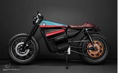 moto 125 electrique honda electric cafe racer moto electrique c 233 zanne