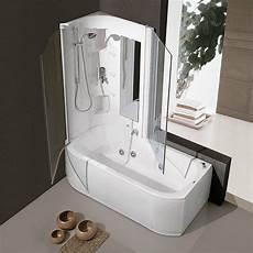 combinato vasca doccia vasca e doccia insieme per risparmiare spazio cose di casa