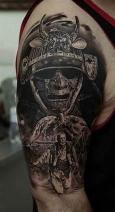 beeindruckende samurai tattoos samurai t 228 towierung