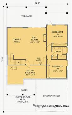 walkout bungalow house plans house plan information for katherine bungalow house