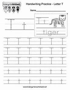 worksheets letter t 24505 letter t writing practice worksheet free kindergarten worksheet for