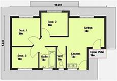 awesome sketch plan for 3 cool simple three bedroom house plans new home plans design