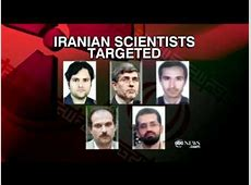 israel killing iranian scientists
