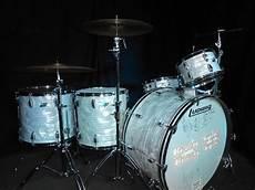 Bun E Carlos Cheap Trick 1980s Ludwig Drum Set Signed