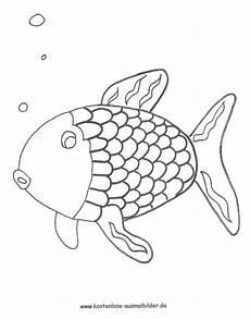 regenbogenfisch ausmalbild regenbogenfisch ausmalbilder