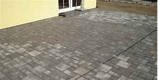 pflastersteine 8 cm stark sitzfl 228 chen terrassen