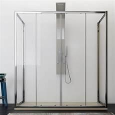 profili per doccia box doccia 3 lati 70x160x70 cm trasparente profili