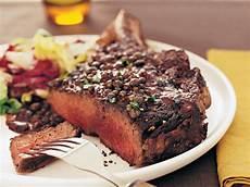 rib eye steak rib eye steak au poivre recipe alexandra guarnaschelli
