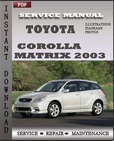 manual repair free 2012 toyota matrix user handbook toyota corolla matrix 2003 engine free download pdf repair service manual pdf