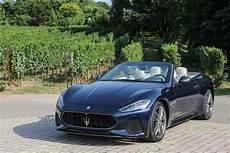 2018 Maserati Granturismo Coupe Convertible Drive