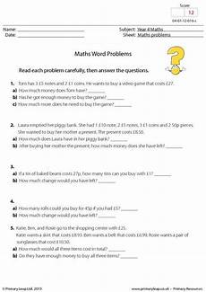 word problem worksheets year 4 11181 primaryleap co uk maths word problems worksheet math word problems word problems word
