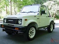 how to learn everything about cars 1987 suzuki sj auto manual 1987 suzuki samurai only 64k original miles 4wd 5 speed all stock and original