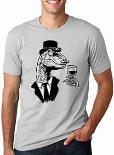 Dino Shirt dino sir t shirt gentleman raptor shirt dinosaur