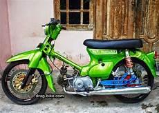 Modifikasi Motor Bebek Honda by 42 Foto Gambar Modifikasi Motor C70 Racing Chopper
