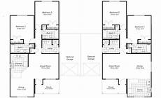 modular duplex house plans superb duplex floor plans with garage with images