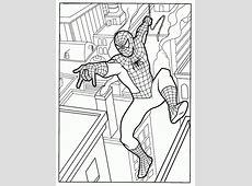 Spiderman Kleurplaat Superhelden Kleurplaat » Animaatjes.nl