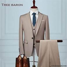 Costume Homme Blazer Noir Saumon Costume Mariage Blanc