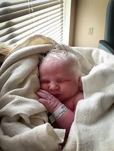 Newborn Baby With Hair
