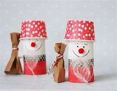 Bastelideen Für Kinder Weihnachten - weihnachtsmann aus toilettenpapierrolle basteln mit kindern
