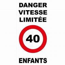 panneau vitesse illimitée allemagne panneau danger vitesse limit 233 e 40km h enfants