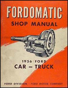 auto manual repair 1955 ford thunderbird transmission control 1955 1956 ford mercury canadian automatic transmission manual original