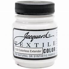 quot jacquard textile color fabric paint 2 25oz clear extender