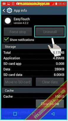 cara menghapus aplikasi android yang tidak bisa dihapus madurace