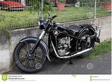 Historisches Bmw Motorrad Redaktionelles Stockbild Bild