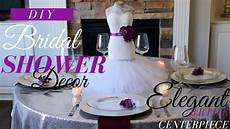 mannequin centerpiece wedding bridal shower