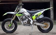 Modifikasi Supermoto by Modifikasi Motor Kawasaki Klx 150 Ala Supermoto