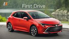 2019 new toyota corolla 2019 toyota corolla hatchback review the hatch is back