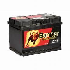 Autobatterie 60 Ah - banner starting bull autobatterie 56009 60 ah 480 a ebay