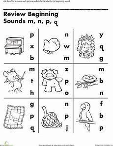 review beginning sounds teaching phonics beginning