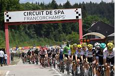 Tour De Route Takes Riders Around F1 Circuit Spa