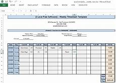 10 free time tracking spreadsheet to track and log work hours